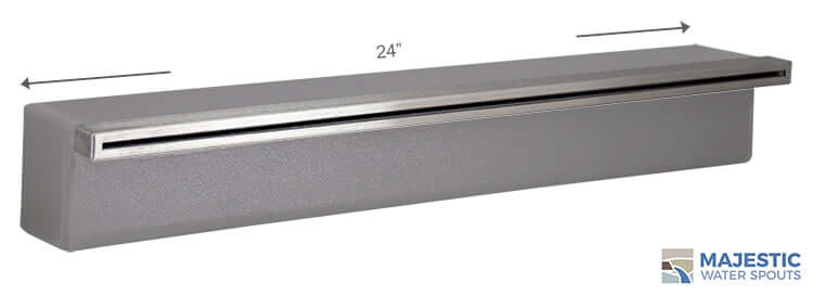 "Tomaso <br> 24"" Classic Vanity Cover - Stainless Steel"