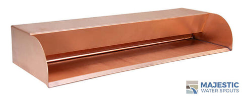 "Picard<br>24"" Cascading Scupper - Copper"