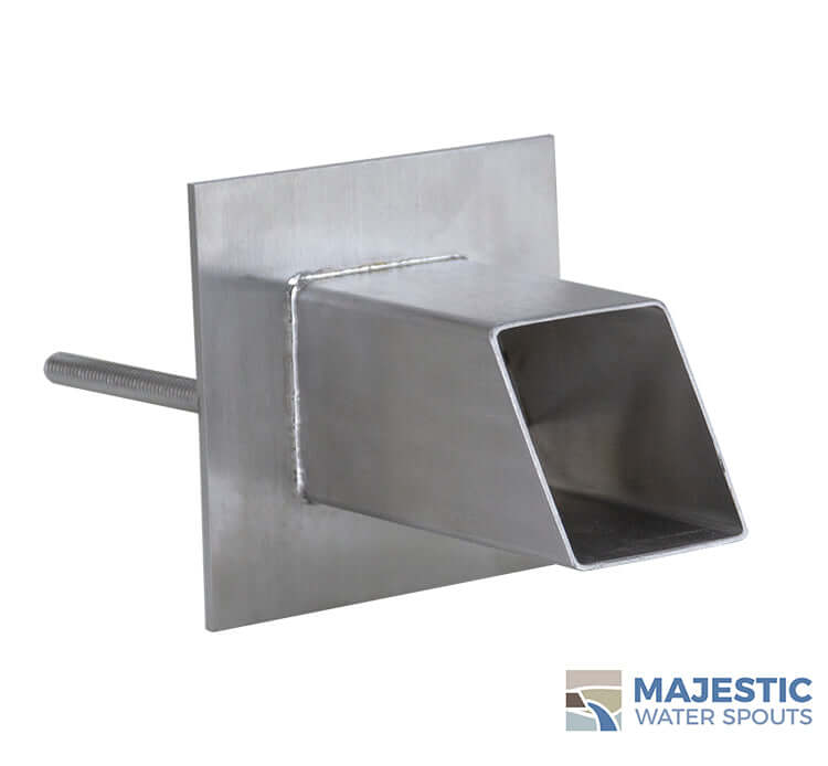 "Gallant <br> 2"" Water Spout Mask - Stainless Steel"