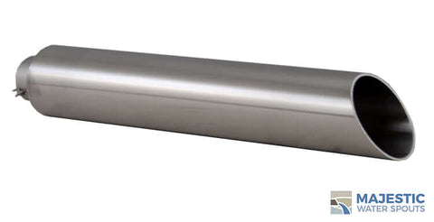 "Keegan <br> 2"" Water Fountain Spout - Stainless Steel"
