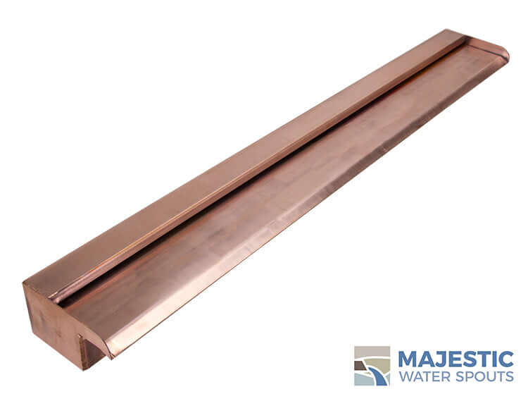 "Nakano <br> 36"" Waterfall Spillway - Copper"