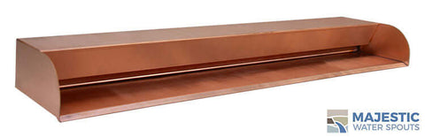 "Picard<br> 36"" Cascading Scupper - Copper"