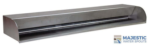 "Picard<br> 36"" Cascading Scupper - Stainless Steel"