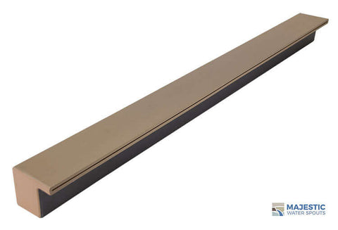 "Tomaso <br> 48"" Smooth Water Spillway - Tan"
