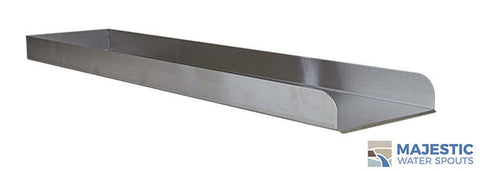 "Martin <br> 36"" Water Runnel Spill Channel  - Stainless Steel"