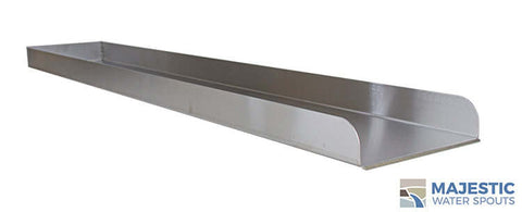 "Martin <br> 48"" Water Runnel Spill Channel- Stainless Steel"