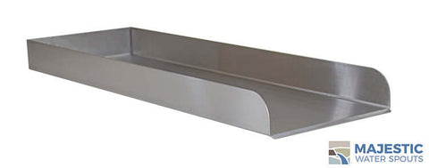 "Martin <br> 24"" Water Runnel Spill Channel - Stainless Steel"