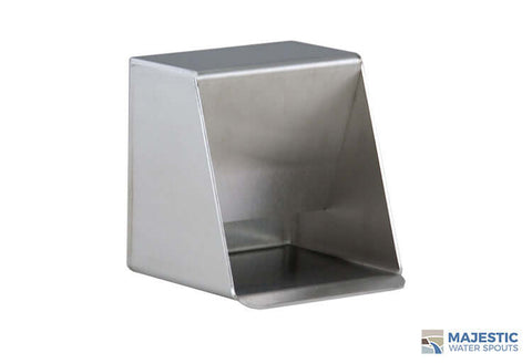 "Chapin <br> 3"" Square Wall Mount Sink Spout - Stainless Steel"