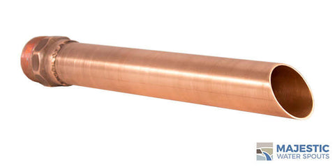 "Keegan <br> 1.5"" Water Fountain Spout - Copper"
