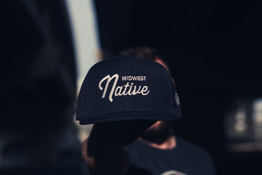 Midwest Native Script Snapback
