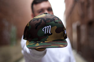 Midwest Native M Feather Snapback Hat