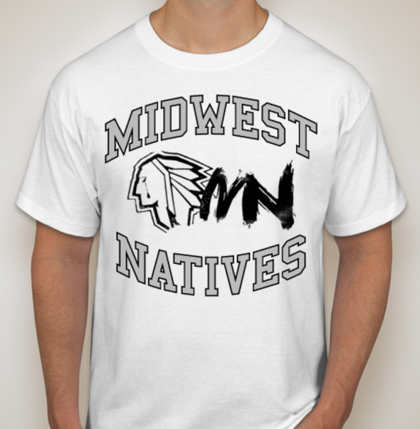 Midwest Natives Chief Logo T-Shirt
