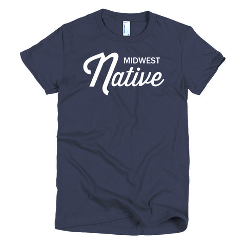 Midwest Native Script Women's T-Shirt