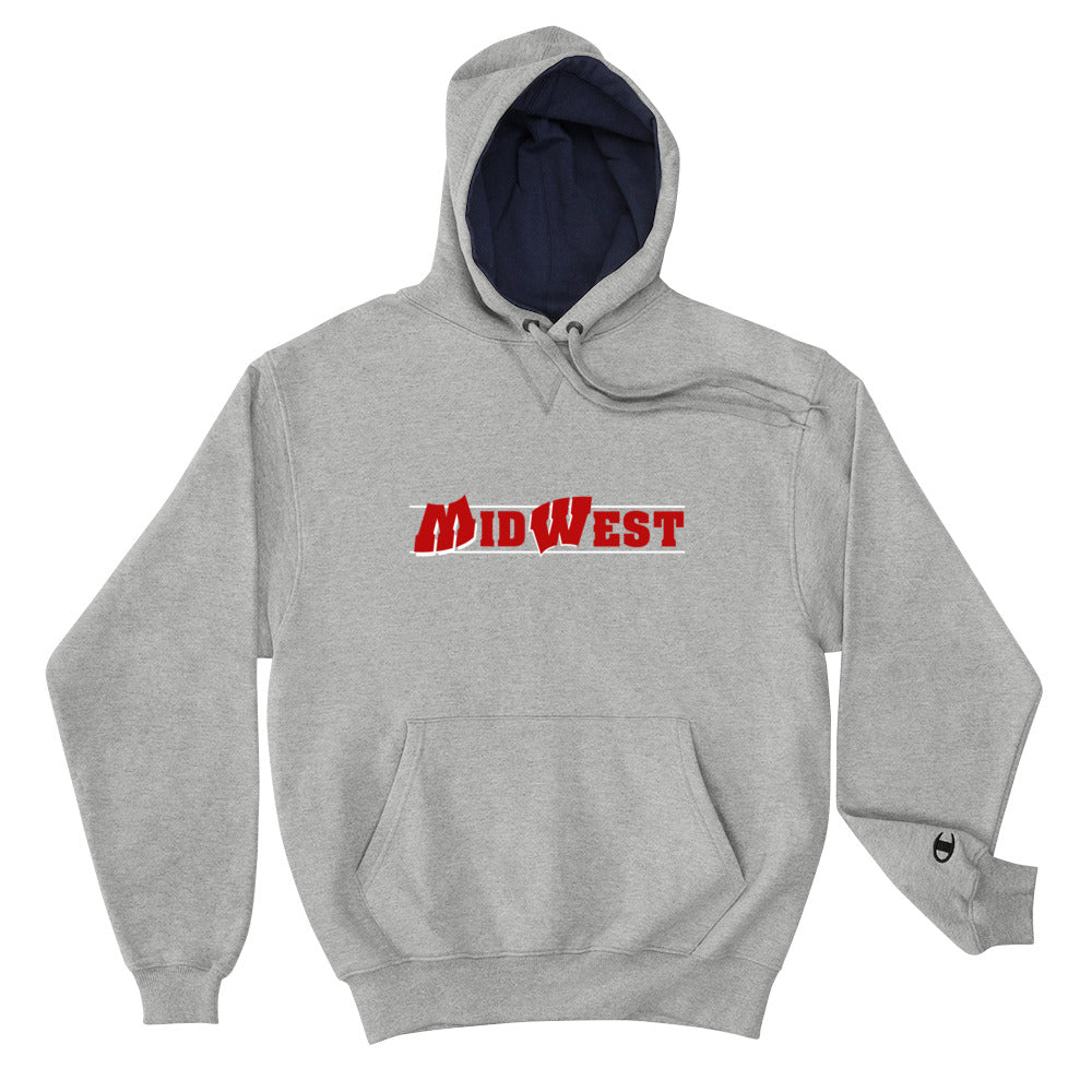 Midwest Script Flipped Champion Hoodie