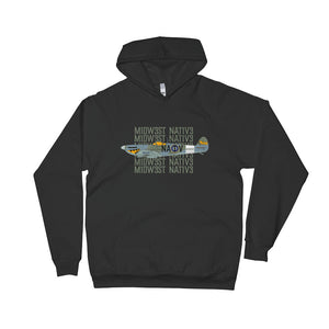 NATV War Plane Hooded Sweatshirt
