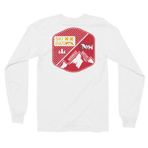 Midwest Native Ski Patrol Double Crossed Long Sleeve T-Shirt
