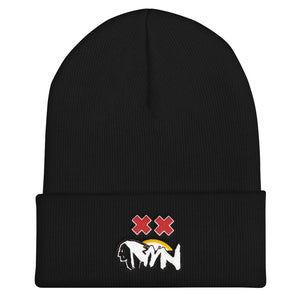 Midwest Native Ski Patrol Double Crossed Beanie