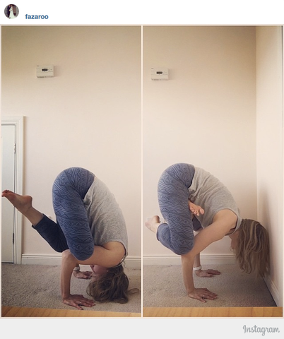 bakasana modifications