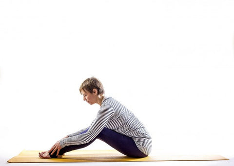 yoga for menopause seated forward bend