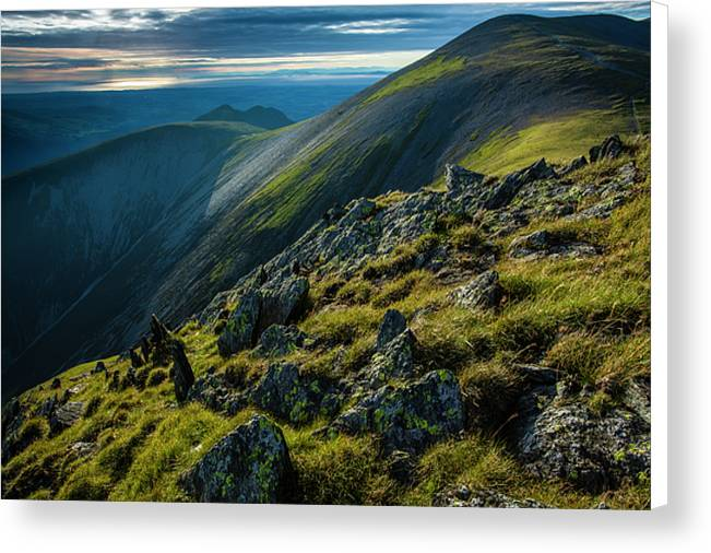 Skiddaw, Lake District National Park Canvas Print