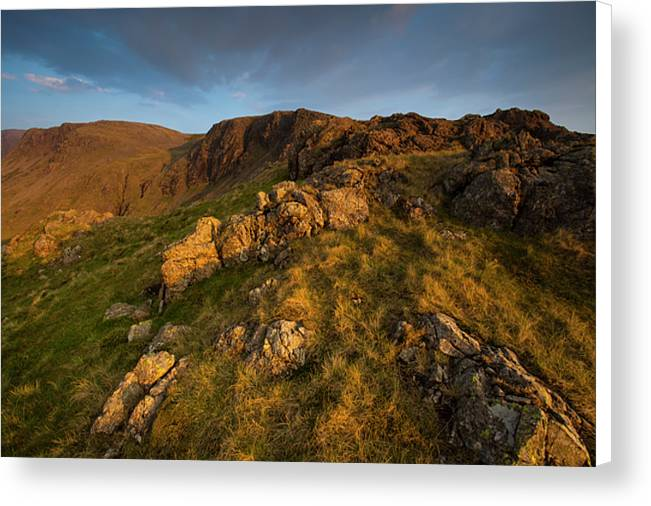 Kirkfell Crags, Lake District National Park Canvas Print