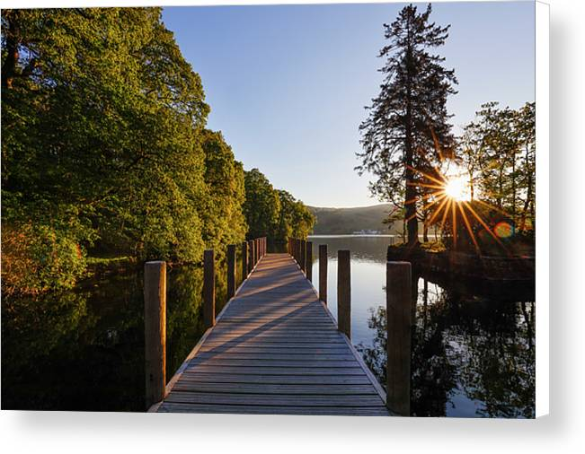 Low Wray on Windermere, Lake District National Park Canvas Print