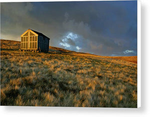 Lingy Hut on the Cumbria Way, Lake District National Park Canvas Print