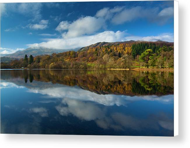 Autumn at Coniston, Lake District National Park Canvas Print