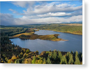 Kielder Water, Northumberland Canvas Print