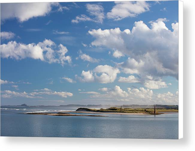 Ross Back Sands, Northumberland Canvas Print