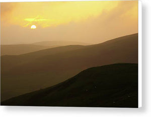 Cheviot Hills, Northumberland Canvas Print