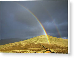 Rainbow above the Pennine Way, Northumberland Canvas Print