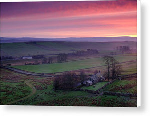 Peel Bothy, Northumberland Canvas Print