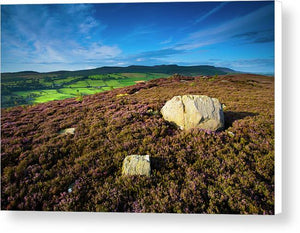 Rothbury Terraces, Northumberland Canvas Print