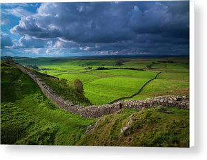 Hadrian's Wall, Northumberland Canvas Print