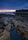 King Edward's Bay, Tynemouth, A5 Greeting Card