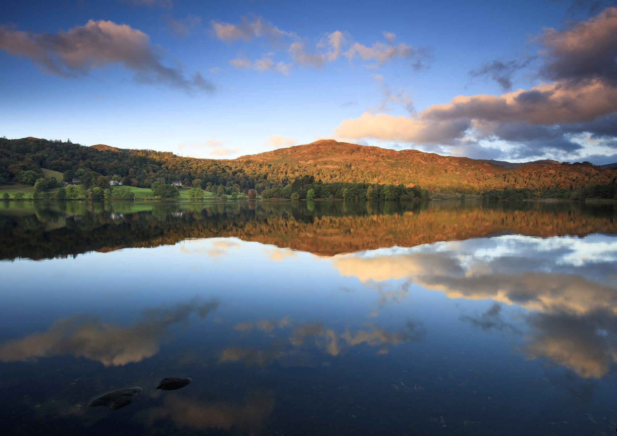 Grasmere, Lake District National Park, A5 Greeting Card