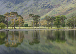 Buttermere, Lake District National Park, A5 Greeting Card