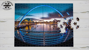 Quayside, Newcastle Upon Tyne, 1000 Piece Jigsaw Puzzle