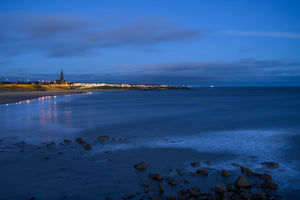 Longsands before dawn, Tynemouth Canvas Print