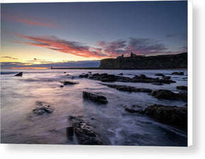 King Edwards Bay, Tynemouth Canvas Print