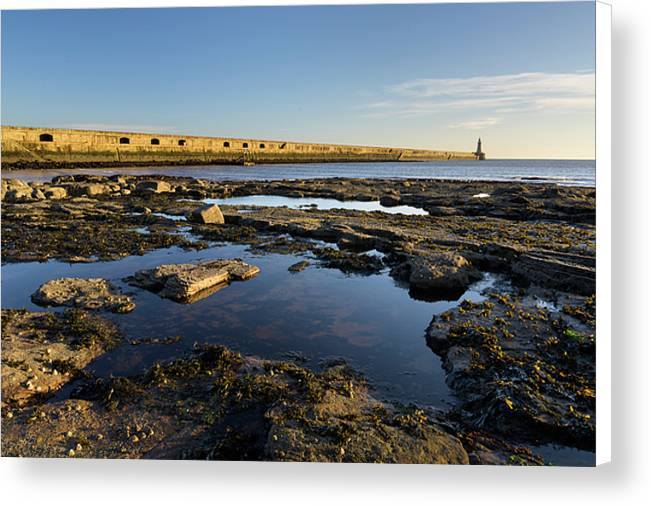 The Pier, Tynemouth Canvas Print