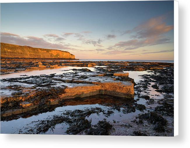 Old Hartley, Whitley Bay Canvas Print