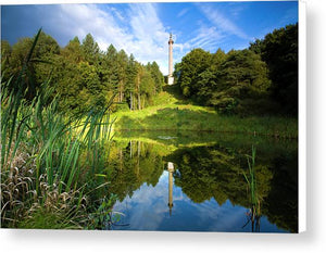Column of Liberty, Gibside Canvas Print