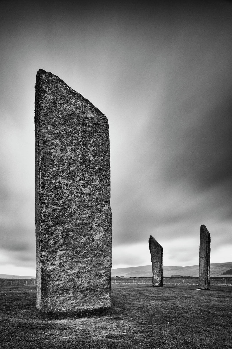 Standing Stones of Stenness, Orkney Islands, Scotland