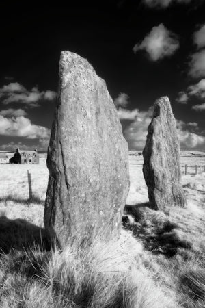 Callanish Stone Circle (No 2), Isle of Lewis, Scotland