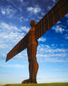 "The Angel of the North, Gateshead, Tyne & Wear - 8"" x 10"" Mounted Photography Print"