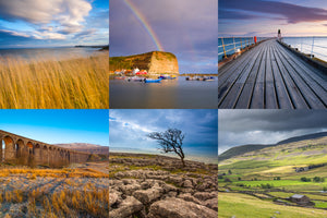 Yorkshire Dales & Coast Greeting Cards (Pack of 6)