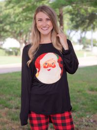 Santa Claus Patch Tee