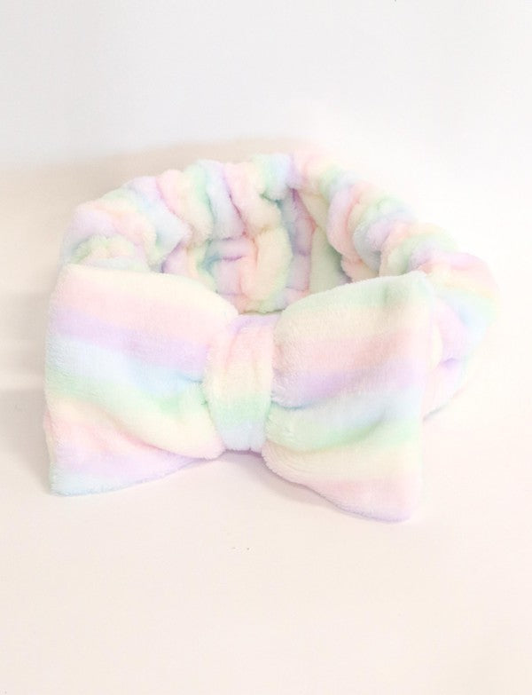 Rainbow Spa Headband